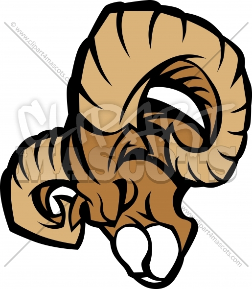 Ram Mascot Graphic Vector Illustration