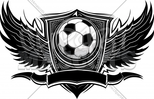 Soccer Design Ornate Graphic Vector Template