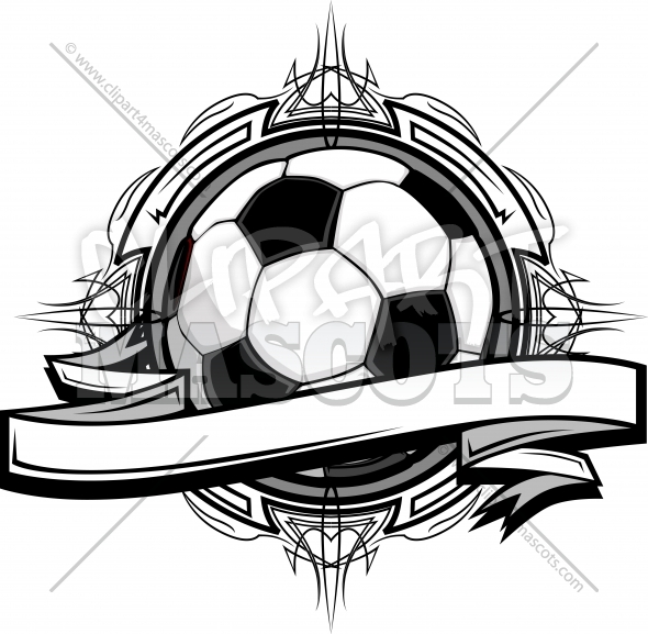 Soccer Design – Soccer Clipart Logo Graphic Vector Template