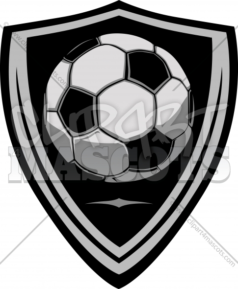 Soccer Template with Shield