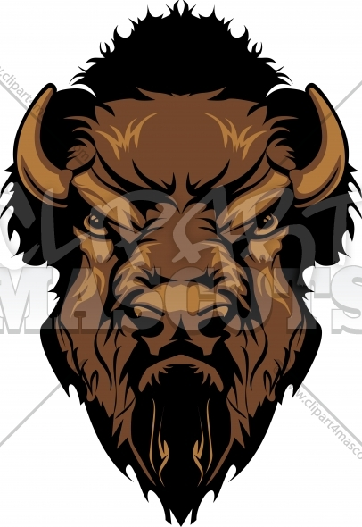 Bison mascot clipart - photo#14