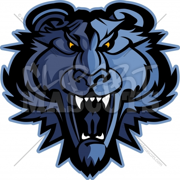 Panther Mascot Graphic Clipart Vector Logo