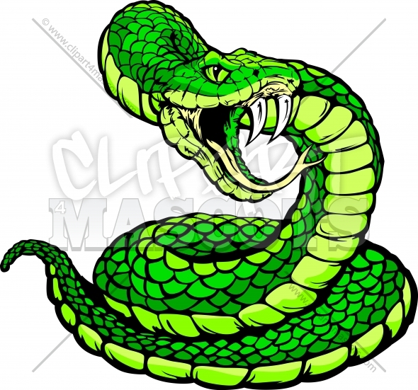 Snake Clipart Vector Graphic