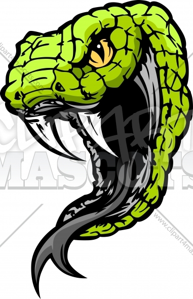 Vector Snake Clipart Graphic