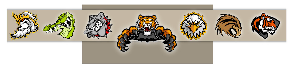 Quality Clipart Mascots and Sports Clipart