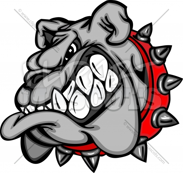 Bulldog Cartoon Clipart Image