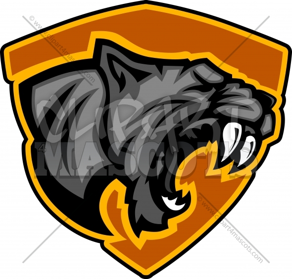 Panther Mascot Logo Vector Graphic