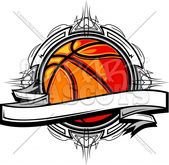 Basketball Design – Basketball Clipart Logo Graphic Vector Template