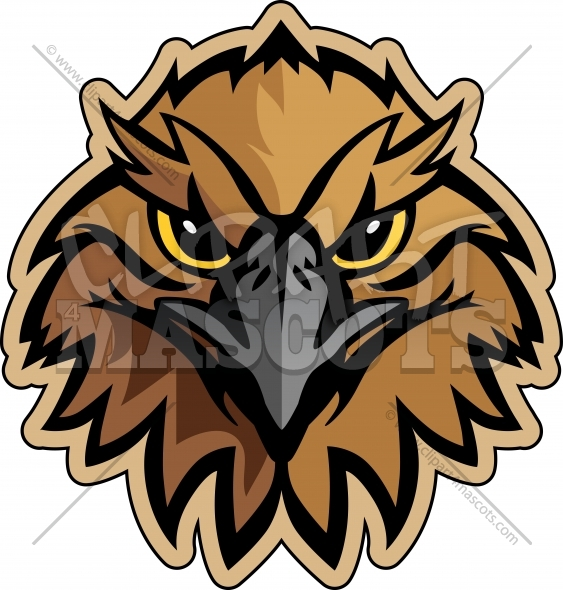 Hawk Mascot Logo Graphic Vector Logo