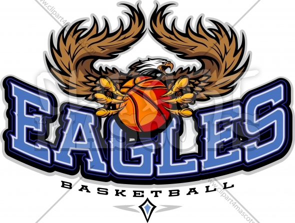 Eagles Basketball Logo – Basketball Team Shirt Design with Eagle Mascot